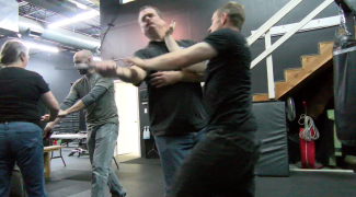 May 2016 Kyle Demo Knife Defense With Adam Pic 3